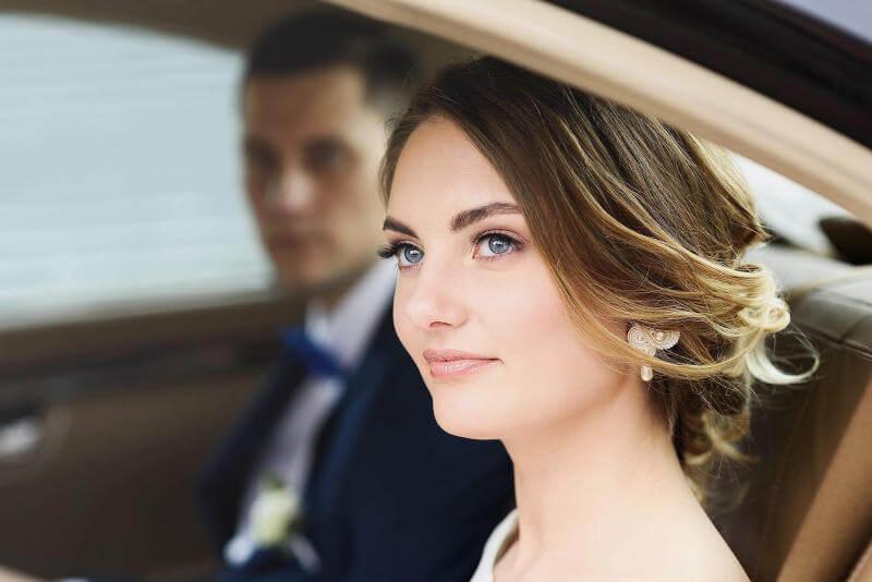 makijaż ślubny podczas wesela we Wrocławiu