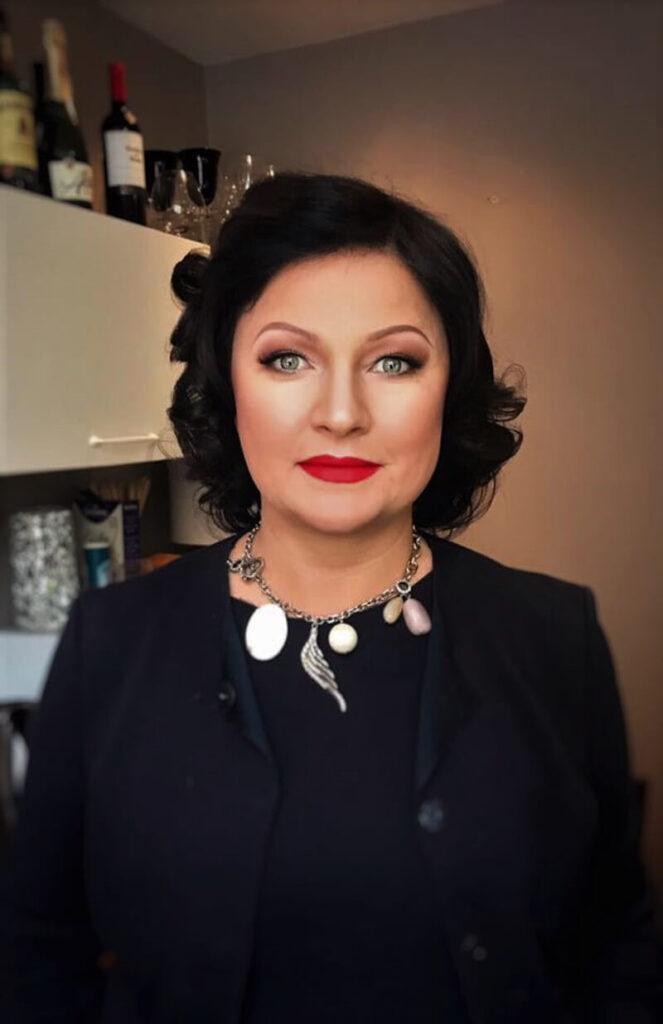 makeup dojrzałej kobiety