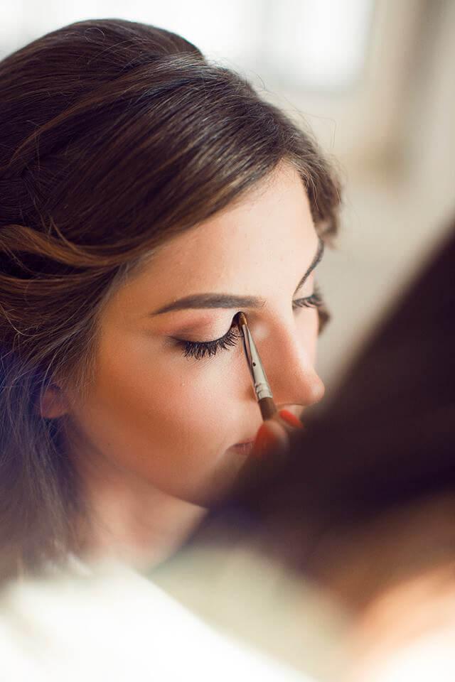 make up oczy wykonywany przez makijażystkę z Wrocławia