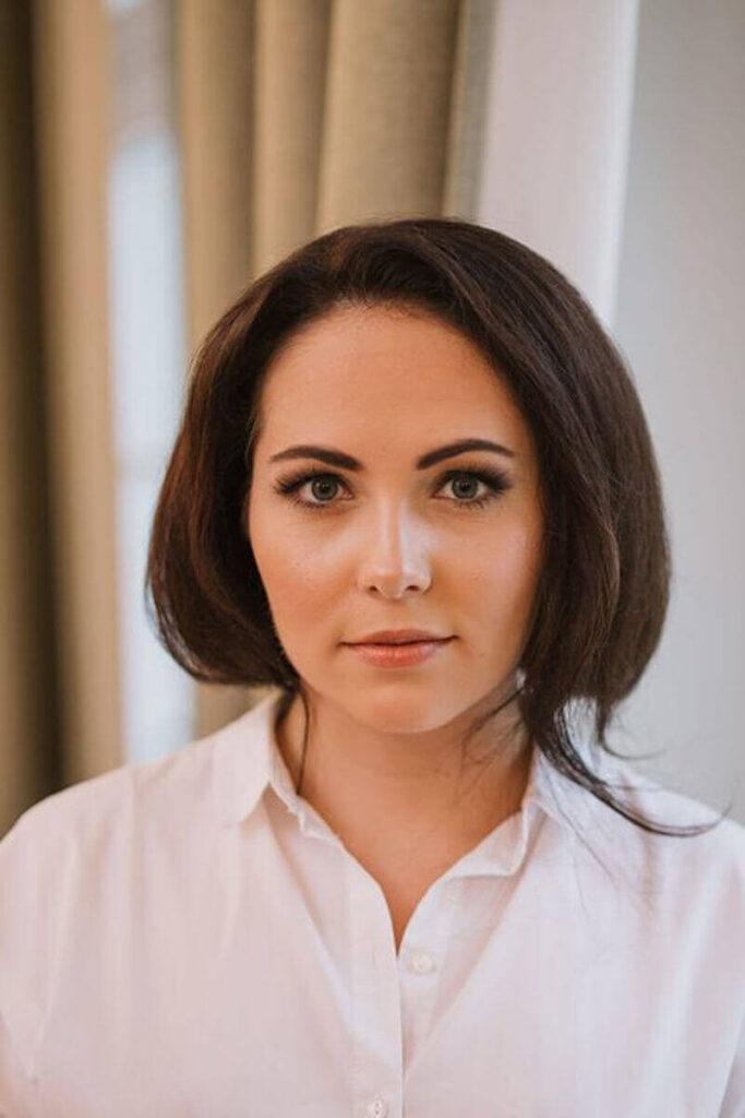 makeup Wrocław młodej kobiety przy okazji ślubu