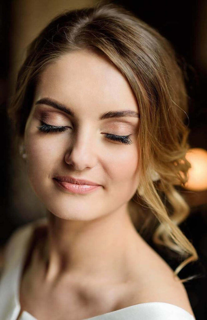 makijaż okazjonalny młodej kobiety przy okazji spotkania Wrocław