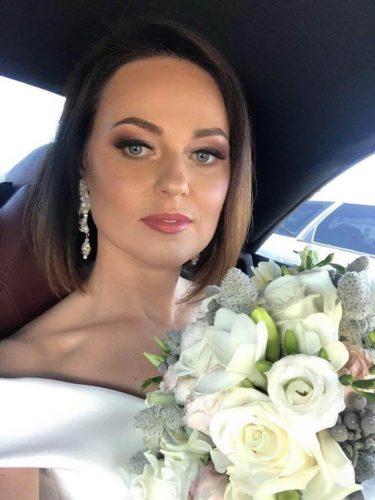 pani młoda w makijażu ślubnym Wrocław